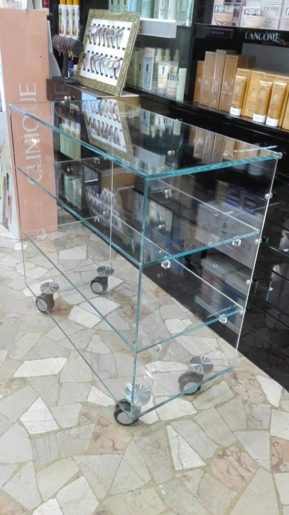 vetrinetta in cristallo